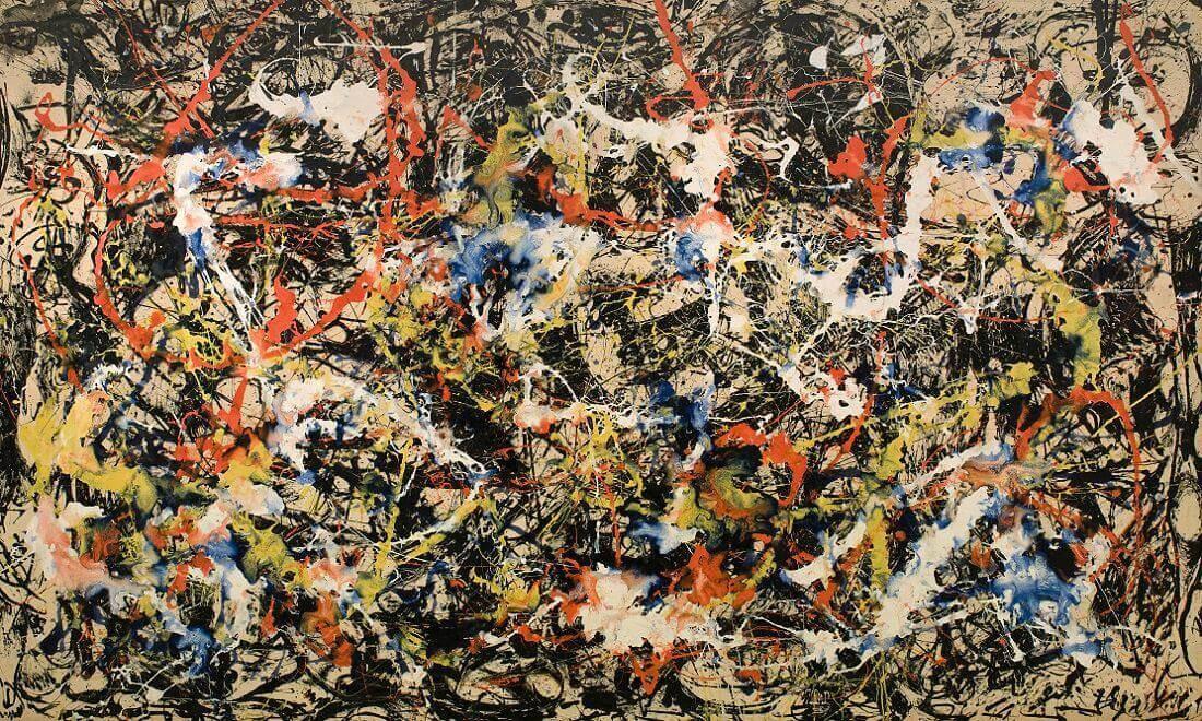 Despite Straight Lines: Jackson Pollock