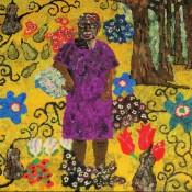 Sue Willie Seltzer, Gee's Bend Quilter, in Klimt